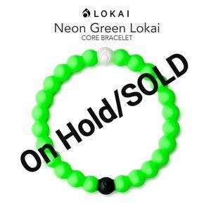 "Lokai Bracelet ""Neon Green"" Core Collection"